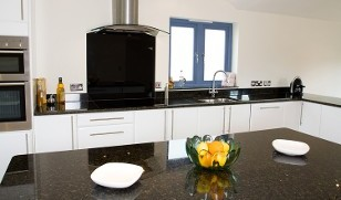 Black and White Kitchen - Kitchen Installation in Nuneaton, Warwickshire